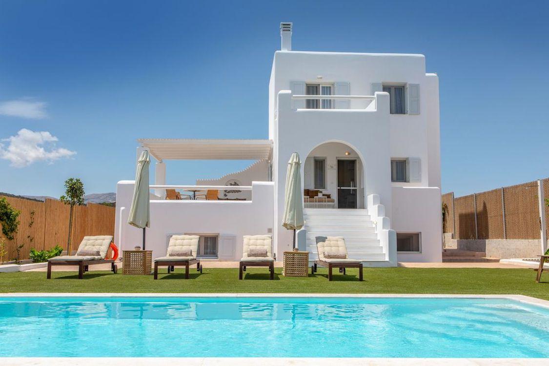 New Beautiful Villa in Greek Island Naxos, Cyclades Property