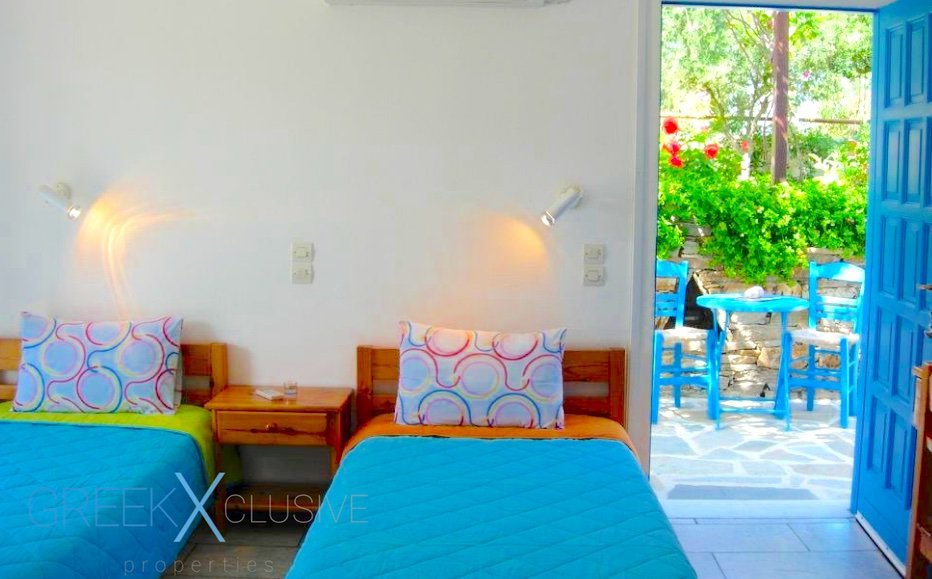 Hotel Studios For Sale Naxos Greece, Apartments Hotel for Sale Greece 1