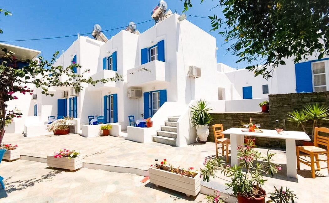 Hotel for Sale Parikia Paros near the Sea, Commercial Business for Sale Paros island