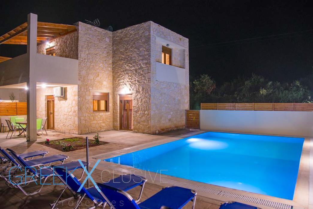 House in Crete with sea View and private pool