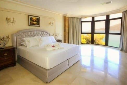 Luxury Sea front Villa in Attica FOR SALE - Porto Germeno, Luxury Beachfront Estate Greece, Luxury Estates Greece 14
