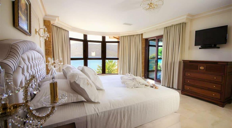 Luxury Sea front Villa in Attica FOR SALE - Porto Germeno, Luxury Beachfront Estate Greece, Luxury Estates Greece 16
