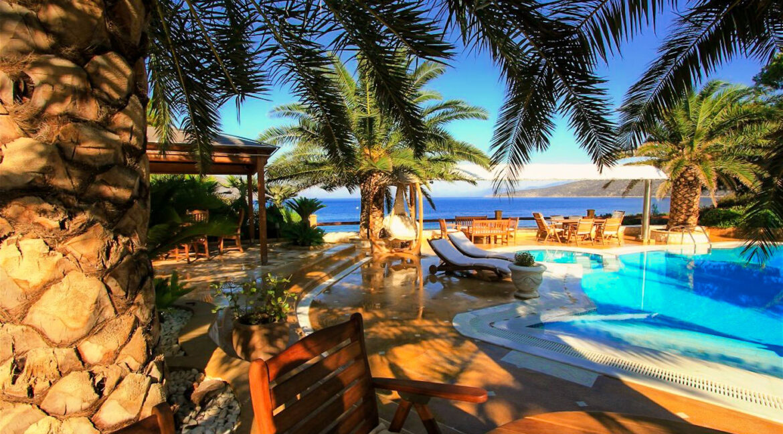 Luxury Sea front Villa in Attica FOR SALE - Porto Germeno, Luxury Beachfront Estate Greece, Luxury Estates Greece 24