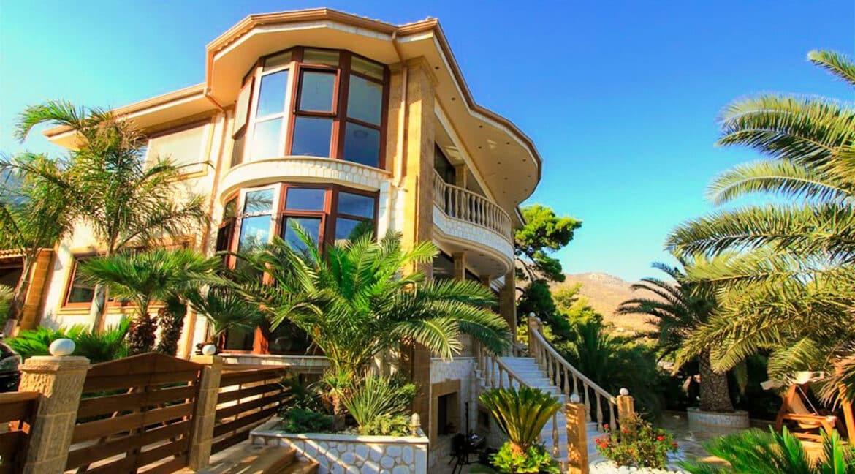 Luxury Sea front Villa in Attica FOR SALE - Porto Germeno, Luxury Beachfront Estate Greece, Luxury Estates Greece 25