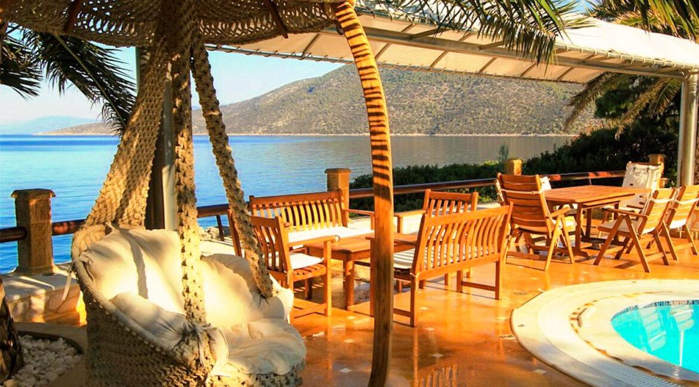 Luxury Sea front Villa in Attica FOR SALE - Porto Germeno, Luxury Beachfront Estate Greece, Luxury Estates Greece 26
