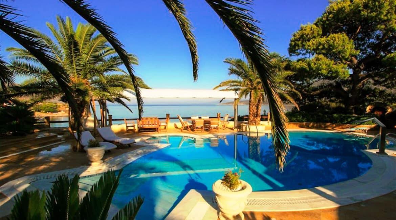 Luxury Sea front Villa in Attica FOR SALE - Porto Germeno, Luxury Beachfront Estate Greece, Luxury Estates Greece 29