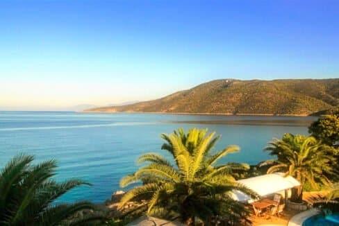 Luxury Sea front Villa in Attica FOR SALE - Porto Germeno, Luxury Beachfront Estate Greece, Luxury Estates Greece 30