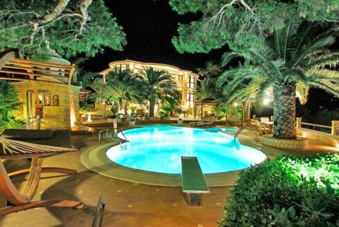 Luxury Sea front Villa in Attica FOR SALE - Porto Germeno, Luxury Beachfront Estate Greece, Luxury Estates Greece 35