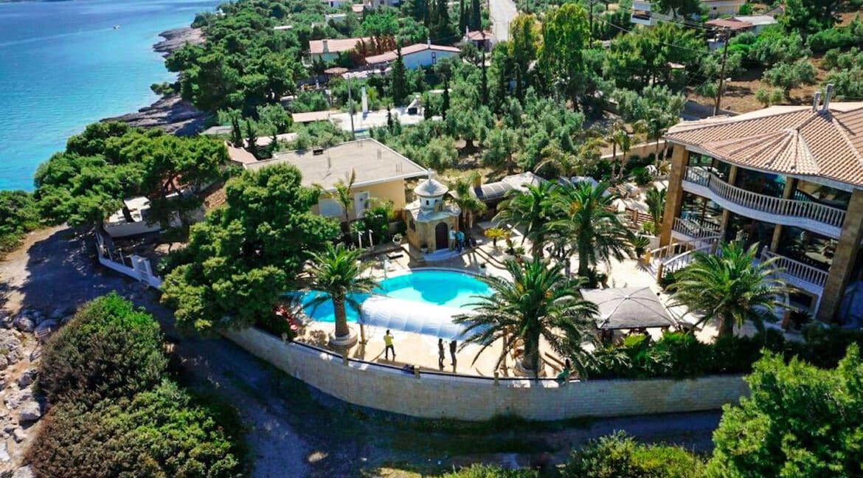 Luxury Sea front Villa in Attica FOR SALE - Porto Germeno, Luxury Beachfront Estate Greece, Luxury Estates Greece 37