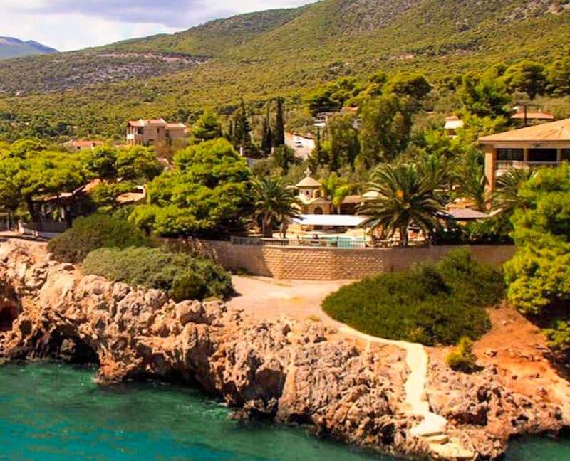 Luxury Sea front Villa in Attica FOR SALE - Porto Germeno, Luxury Beachfront Estate Greece, Luxury Estates Greece 39
