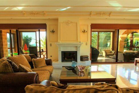 Luxury Sea front Villa in Attica FOR SALE - Porto Germeno, Luxury Beachfront Estate Greece, Luxury Estates Greece 4