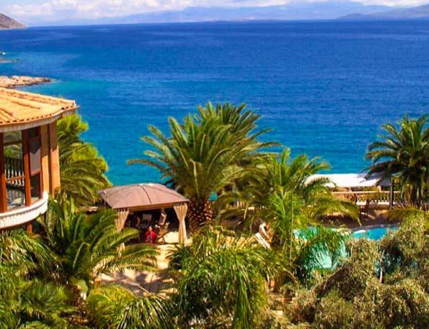 Luxury Sea front Villa in Attica FOR SALE - Porto Germeno, Luxury Beachfront Estate Greece, Luxury Estates Greece 41
