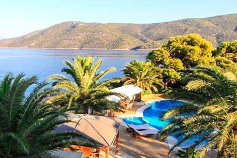Luxury Sea front Villa in Attica FOR SALE - Porto Germeno, Luxury Beachfront Estate Greece, Luxury Estates Greece 44