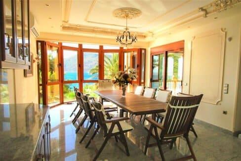 Luxury Sea front Villa in Attica FOR SALE - Porto Germeno, Luxury Beachfront Estate Greece, Luxury Estates Greece 5