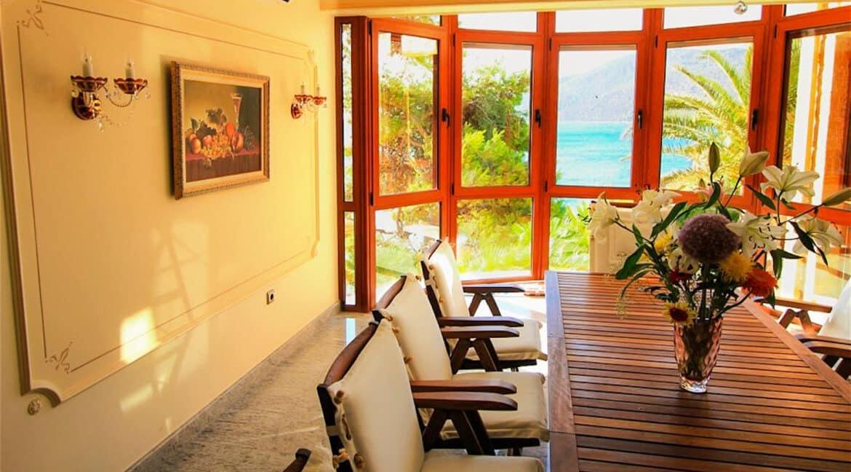 Luxury Sea front Villa in Attica FOR SALE - Porto Germeno, Luxury Beachfront Estate Greece, Luxury Estates Greece 7
