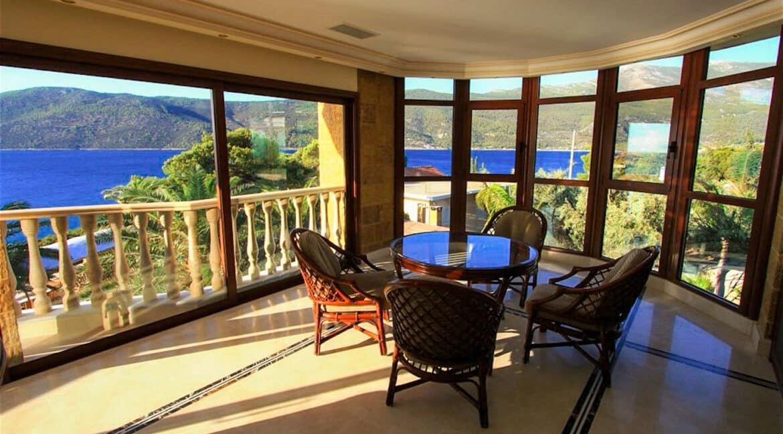 Luxury Sea front Villa in Attica FOR SALE - Porto Germeno, Luxury Beachfront Estate Greece, Luxury Estates Greece 9