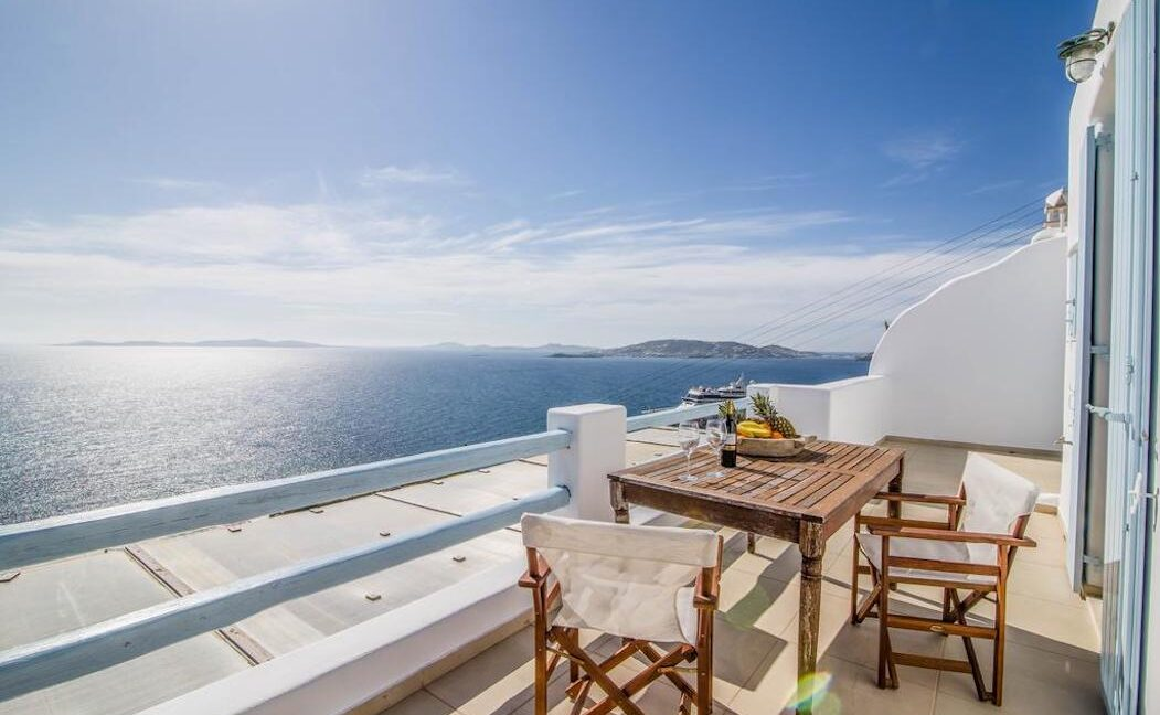Maisonette for sale Mykonos with sea view , Agios Stefanos