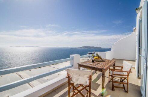 Maisonette for sale Mykonos with sea view , Agios Stefanos