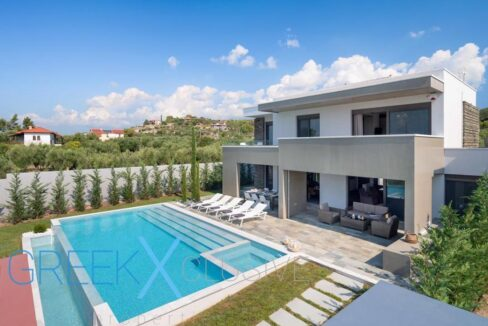Modern Villa in Kassandra Halkidiki, Polychrono, Halkidiki Properties 18