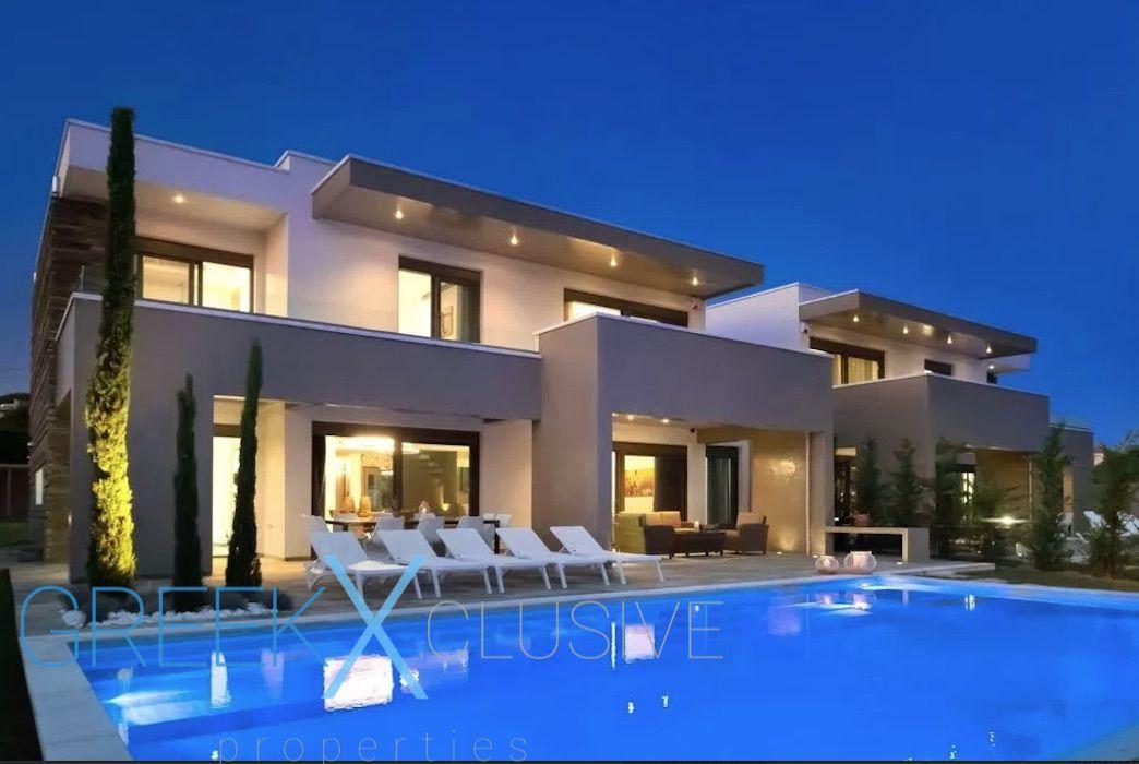 New Modern Villa in Kassandra Halkidiki, Polychrono