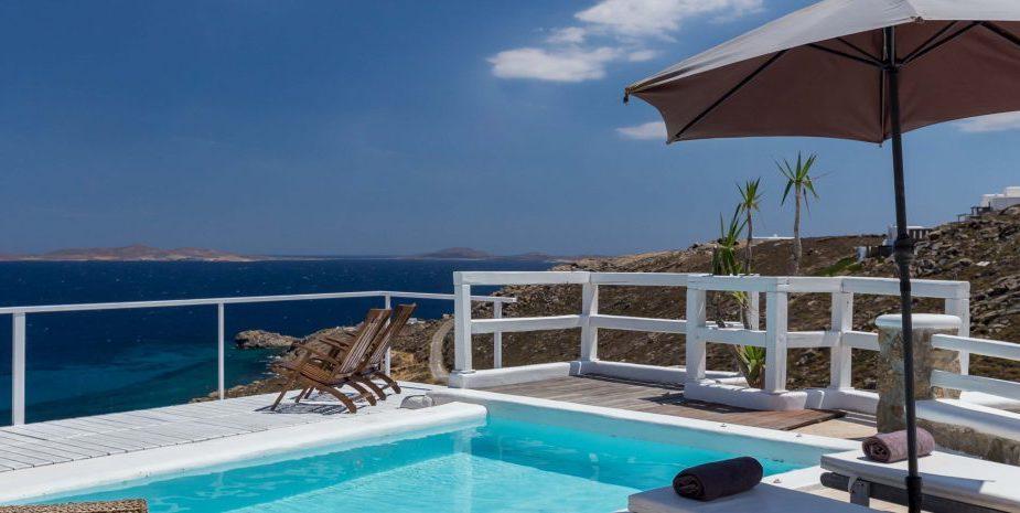 Mykonos Villa in Choulakia with Sea View, Mykonos Property 24
