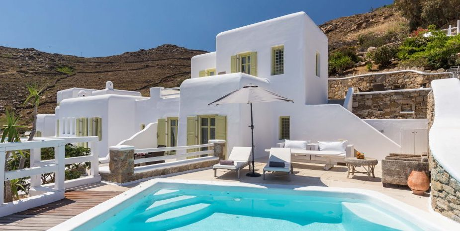 Mykonos Villa in Choulakia with Sea View, Mykonos Property