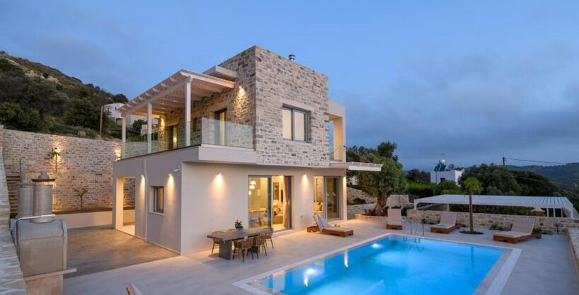 New Villa for sale in South Crete, Near Matala Crete