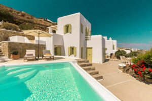 Property in Mykonos with Sea View and Pool, Mykonos Properties