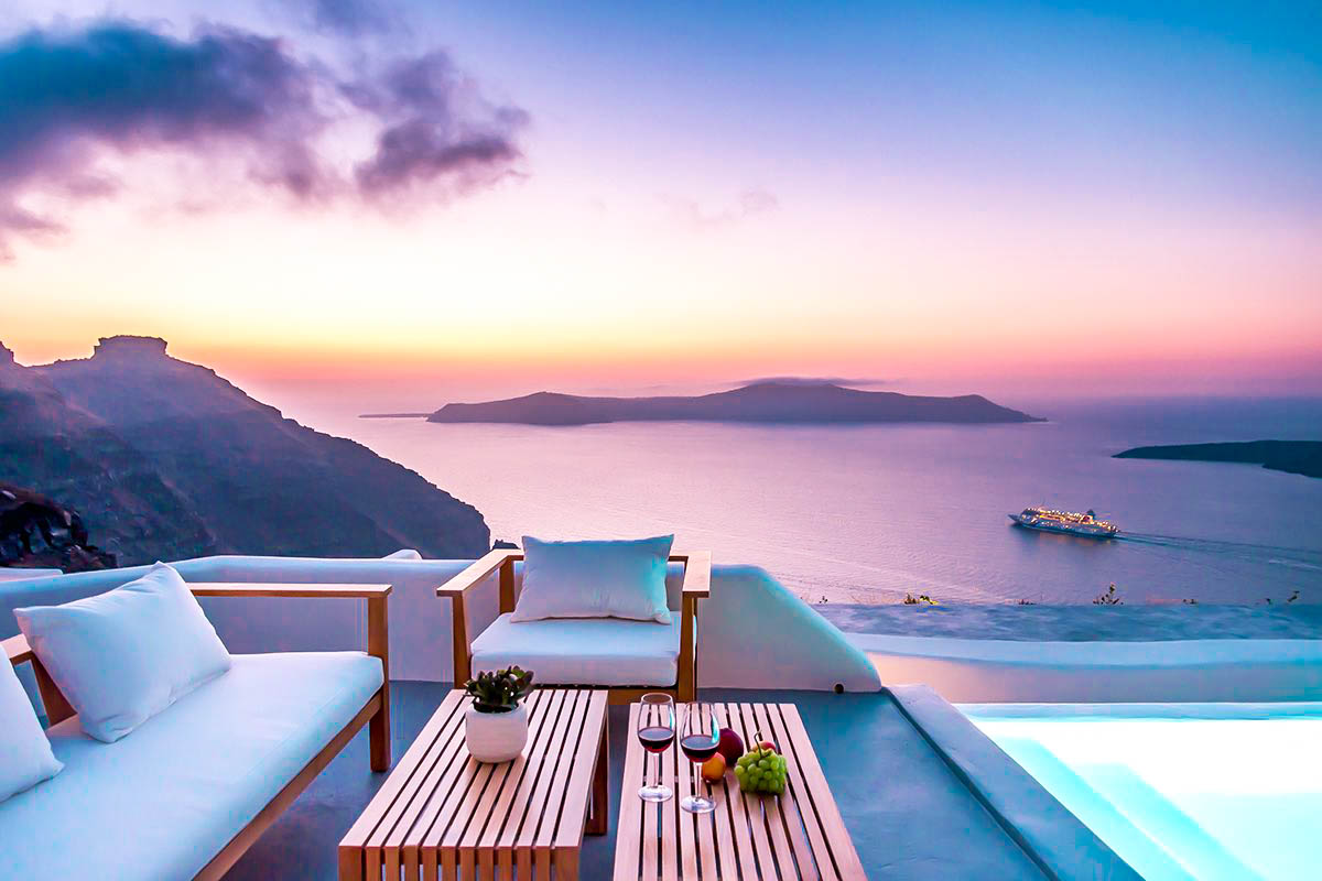 Santorini Luxury Estate Villa at Caldera