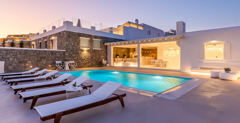 Sea View Villa Kanalia Mykonos, Mykonos Luxury Estates 1