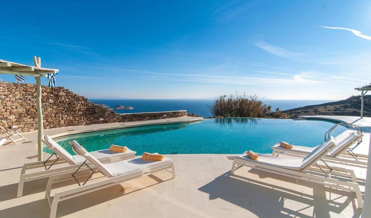 Sea View Villa Mykonos Greece