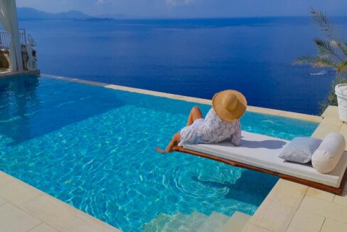 Sea View Villa at Agni Corfu, Corfu Luxury Homes