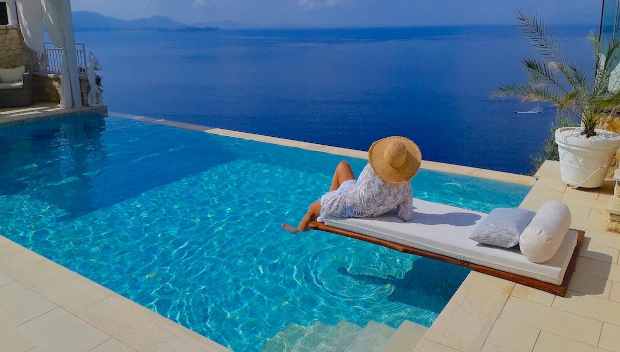 Sea View Villa at Agni Corfu