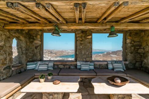 Sea View Villa near Ornos Mykonos, Mykonos Houses 9