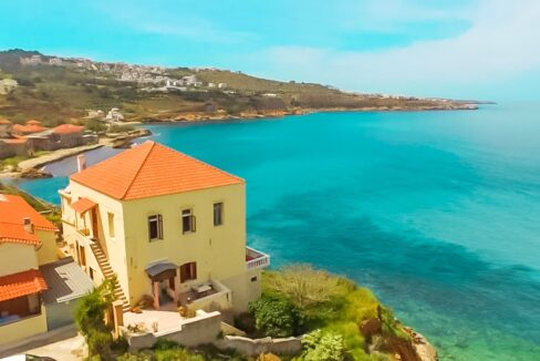 Seafront Building at Chania, Beachfront Property in Crete Greece 25