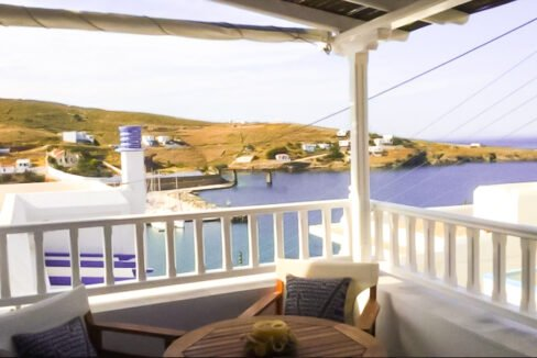 Seafront House Cyclades Greece, Beachfront Property Kythnos Island