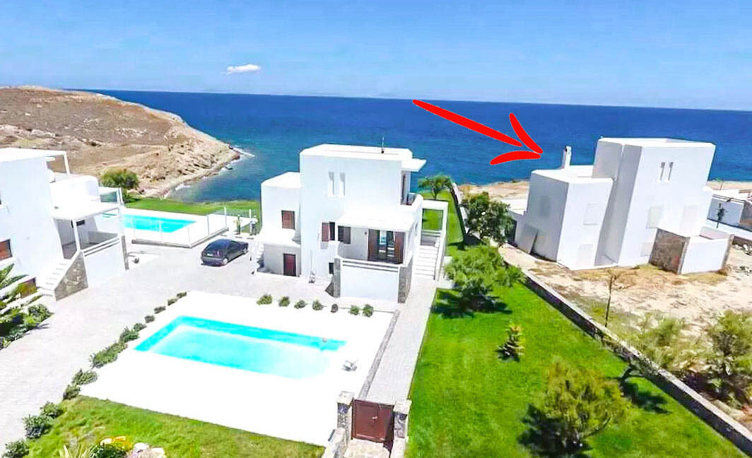 Seafront Maisonette with Private Pool, Naxos Island Greece 3