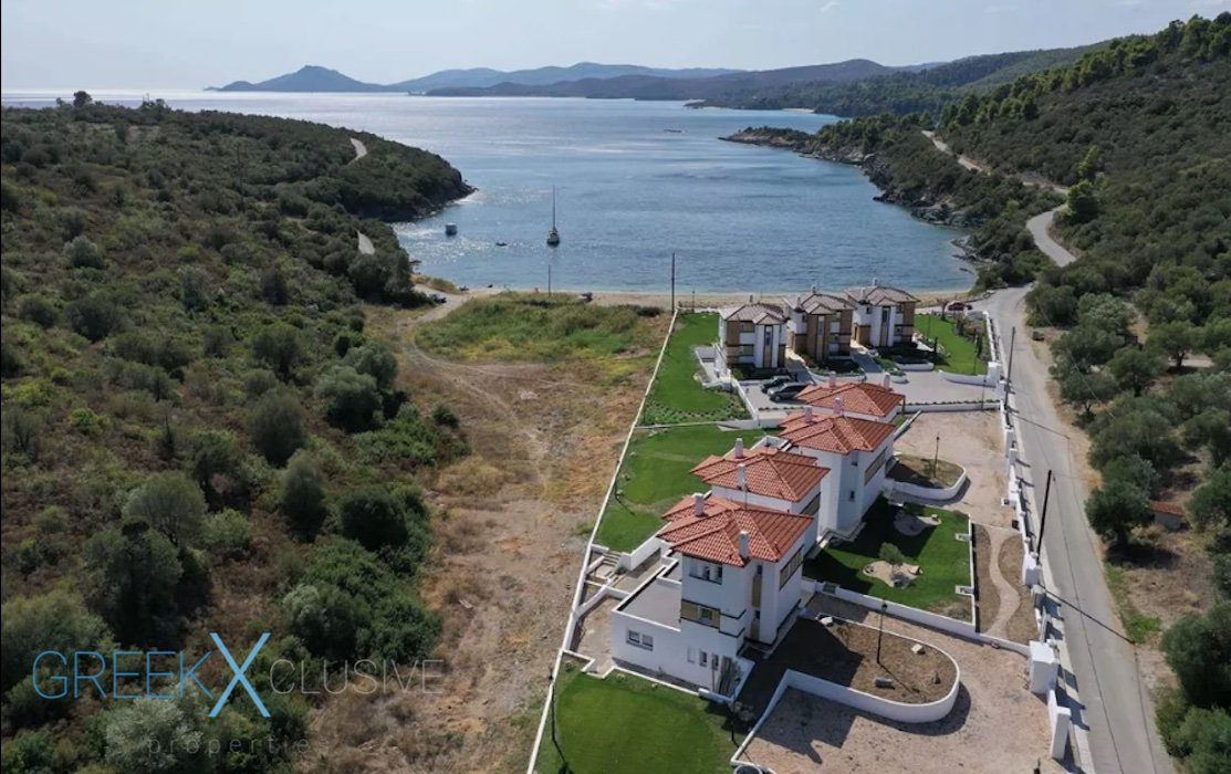 Seafront Villa Sithonia Halkidiki, Near Porto Carras