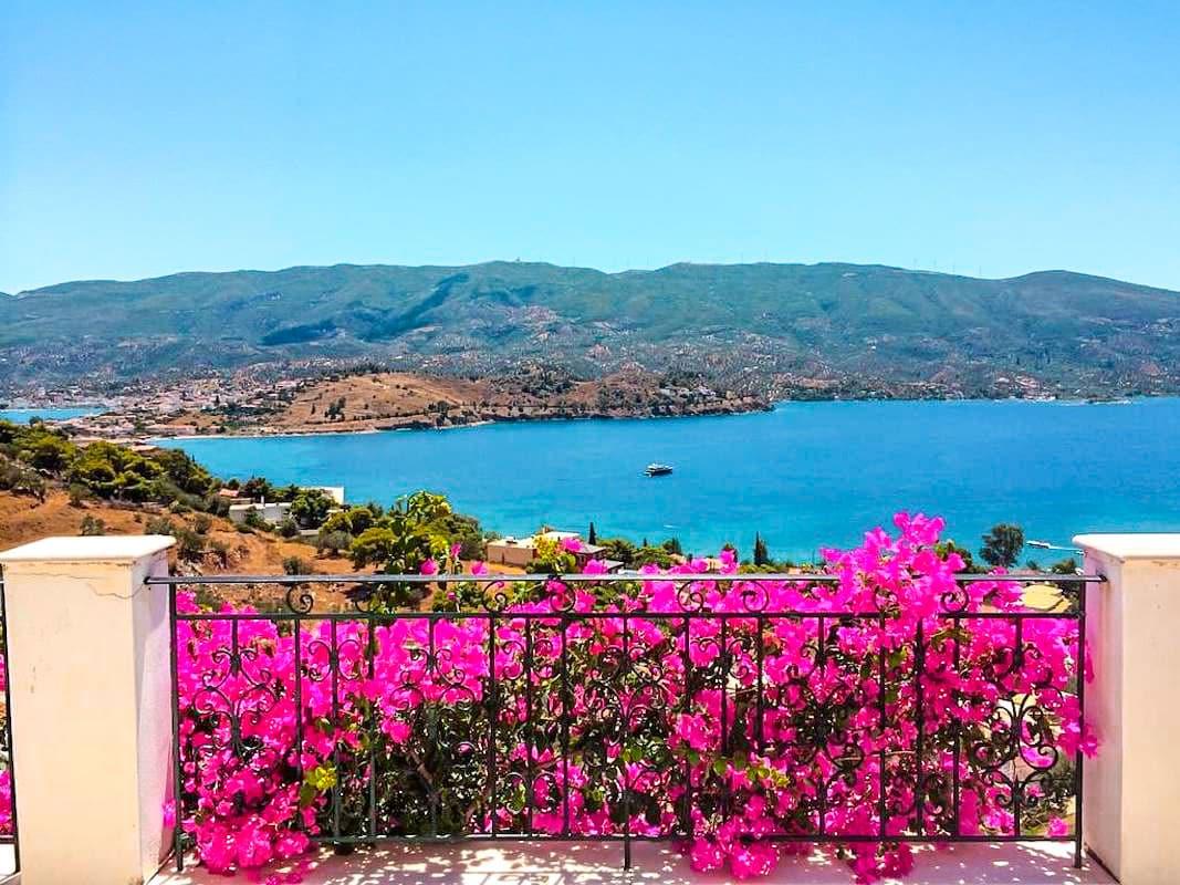 Seaview Villa Poros Island, Near Athens
