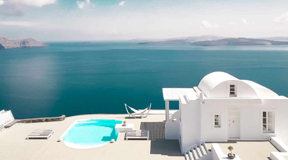 Super Villa at Oia Santorini For Sale