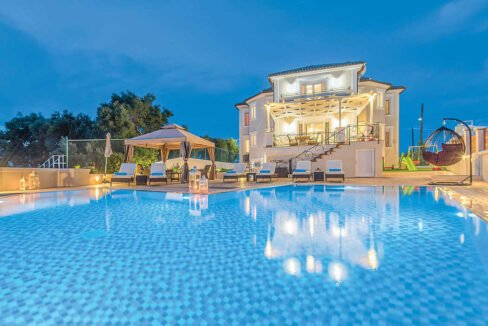 Villa Zante Greece, Zakynthos Properties with Sea View