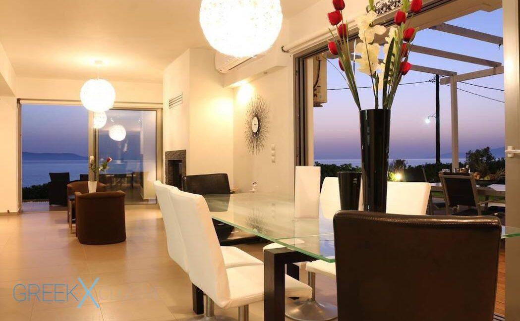Villa at the Beach in Gouves Heraklio, Seafront Villa Crete 2