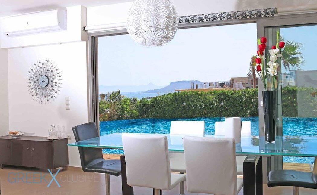 Villa at the Beach in Gouves Heraklio, Seafront Villa Crete 6