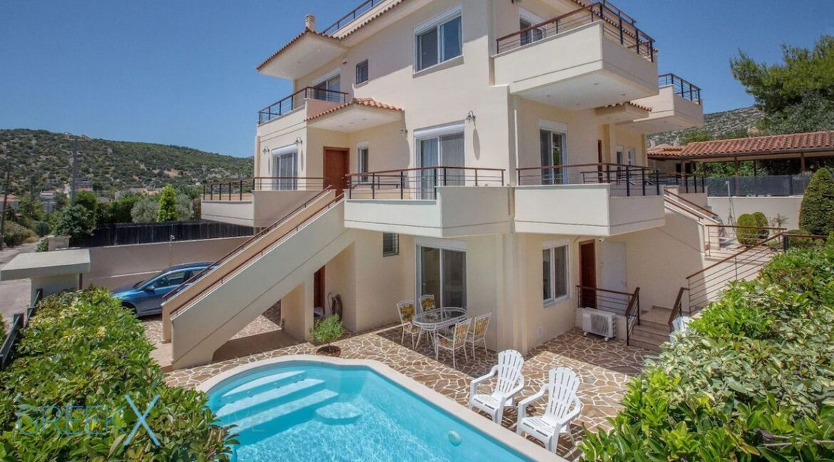 Villas at Lagonisi South Athens, Villas with Sea View in Athens for Sale