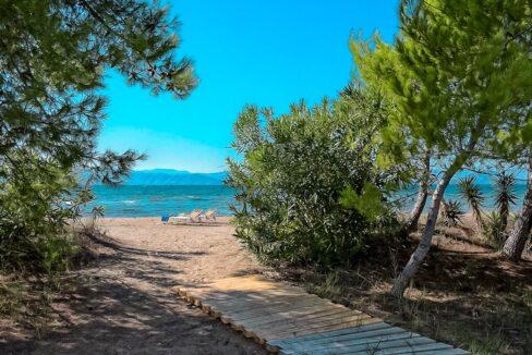 Beachfront house Corfu Island Greece, Ionio Houses