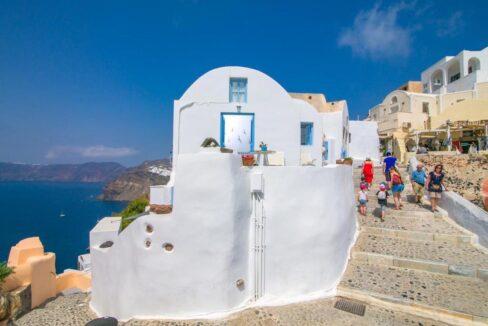 Caldera Santorini! Cave House of 2 Levels in Oia 17