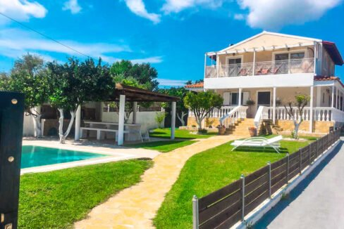 Corfu villa for sale, Corfu Property with sea View and pool 2