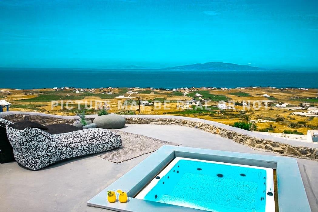 Complex of 7 Houses Finikia Oia Santorini