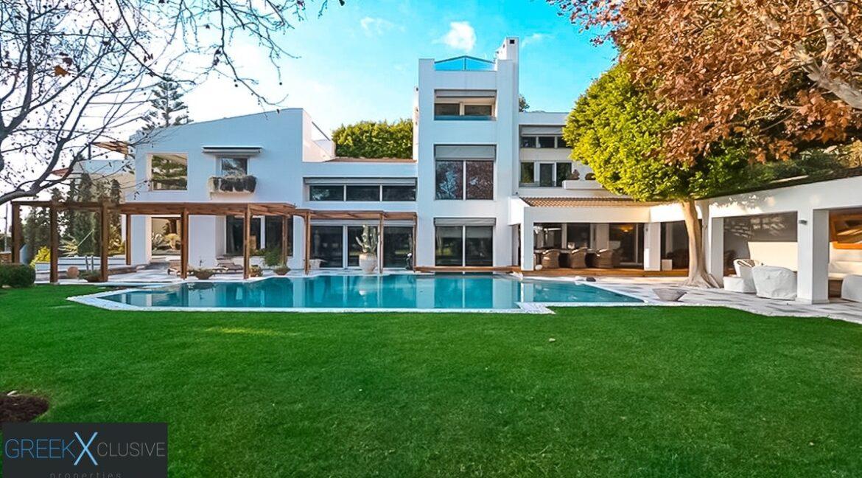 Mansion Glyfada Golf Athens, Glyfada Athens Villa for sale