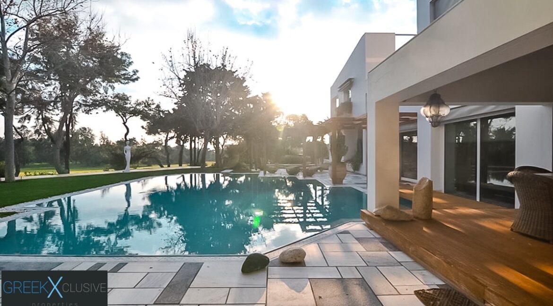 Mansion Glyfada Golf Athens, Glyfada Athens Villa for sale 33